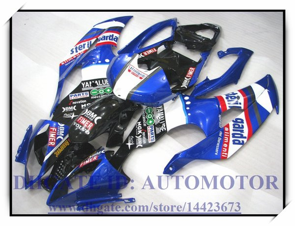 Injection molding brand new fairing kit 100% fit for YAMAHA YZFR6 YZF600 2008 2009 YZF R6 08 09 YZF R6 2008 2009 #KS992 BLUE BLACK