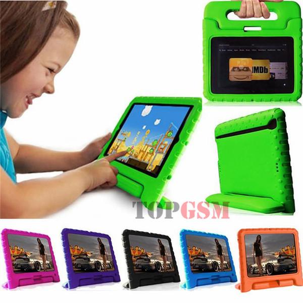 Kids Proof Safe Foam Shock Proof Funda para soporte para iPad mini 2 3 4 para Kindle Fire HD 7 pulgadas Envío gratis por attop