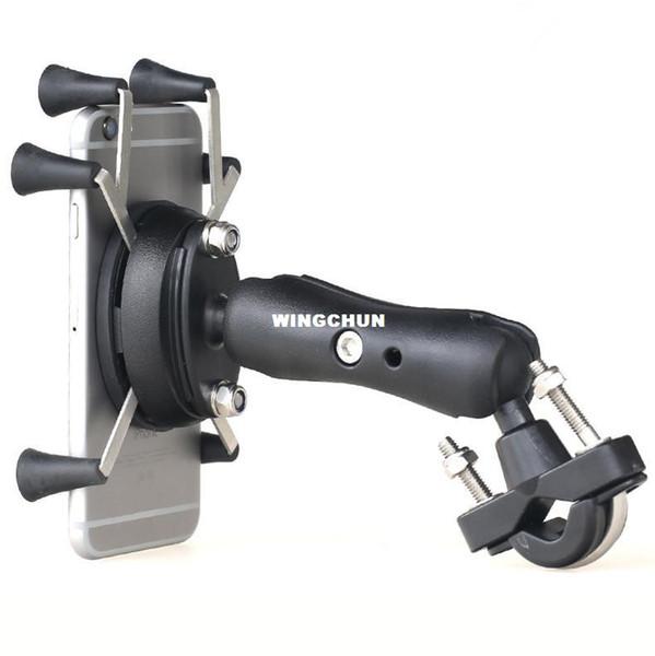 Motorrad Bike MTB Fahrrad Lenkerhalterung Universal X-Grip Handyhalter