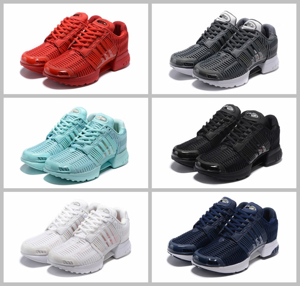 2017 Climacool 1 Clima Cool VIRAL TUBOLARE W Maglia Triple Nero Bianco Scarpe Uomo Tubular Shadow Running Mesh Sport Sneakers 40-45