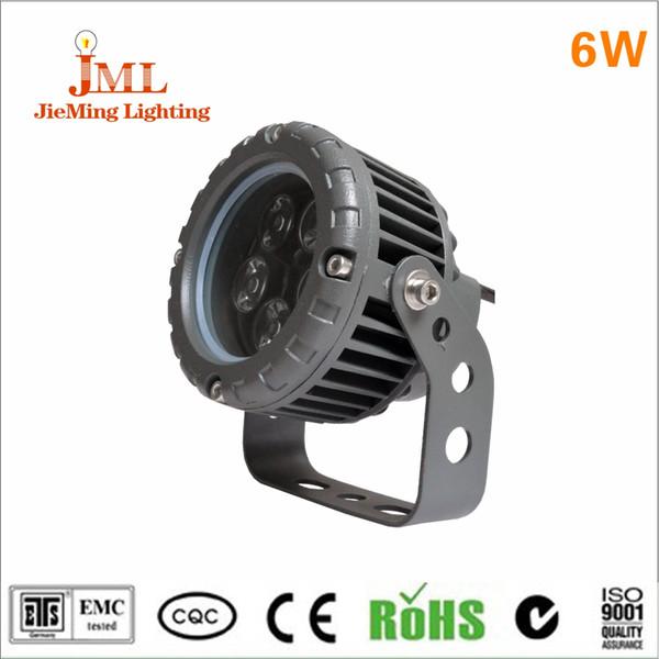 6 w LED flood light application highway outdoor lighting IP 65 flood light DC24V yellow color temperature