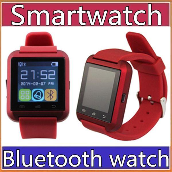 20X fabrik großhandel billig U8 smartwatch U8 Bluetooth Smart Uhr Telefon Kamerad Für Android IOS Iphone Samsung LG Sony Mit anruf erinnerung A-BS
