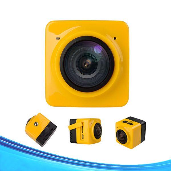 Original action camera 360 degree sport camera waterproof mini cam pro bike video sports camera 2pcs by DHL free shipping