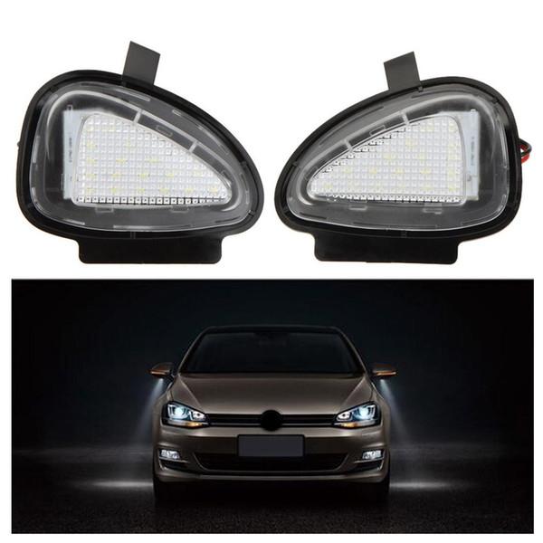20Pair / LOT LED sous les lampes de miroir latérales pour VW Golf 6 Cabriolet Passat (B7) Touran Livraison gratuite