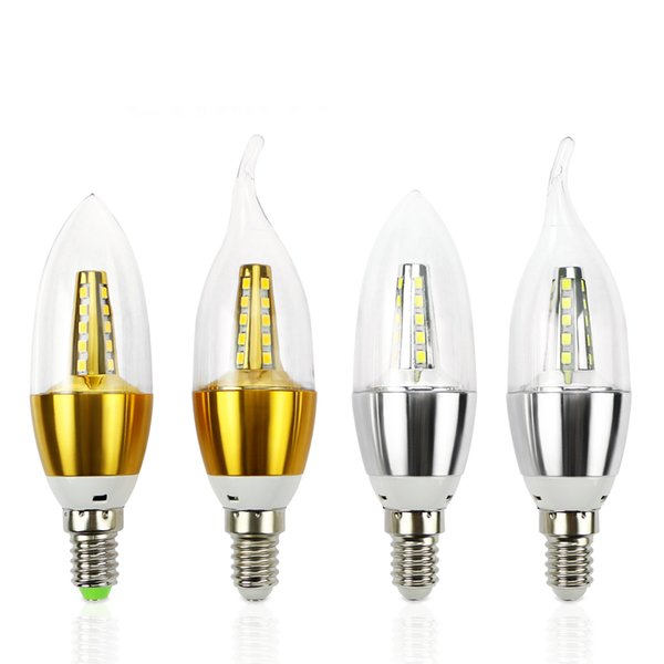 E14 Led Candle Energy Saving Lamp Light Bulb Home Lighting Decoration Led Lamp E14 5w 110v 220v Smd2835 Small Led Bulbs Best Led Bulb From Jhc6688