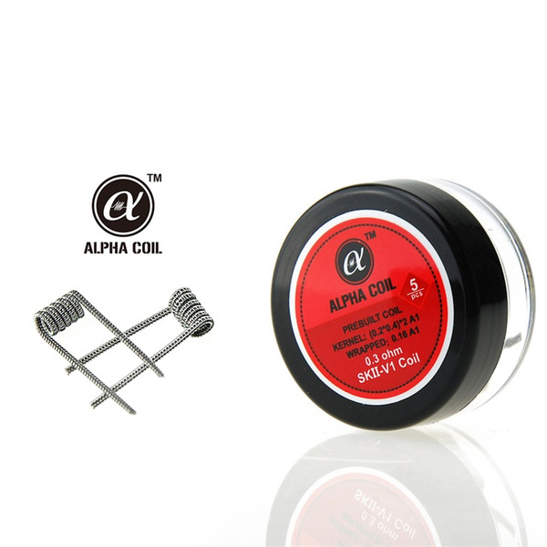 Smokjoy Alpha Pre Built Coils Box /Pack 5 Style Heating Resistance ...