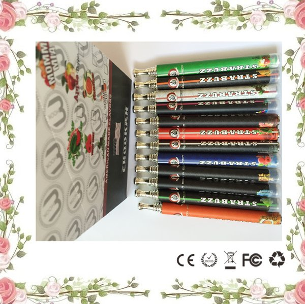 800 Puffs Colorful Brand strabuzz disposable cigarette shishia pen Hookah Time disposable vaporizer pen High Quality E cigarettes vape pen