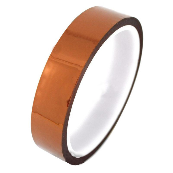best selling Kapton Tape Sticky High Temperature Heat Resistant Polyimide 25mm,50mm,10mm,20mm,30M B00137 OST