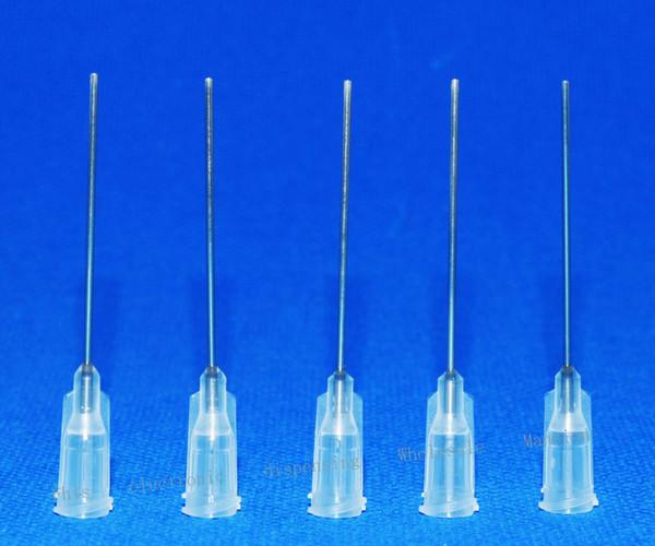19GA 1-inch tubing length,Precision Blunt S.S. dispensing Tips 100pcs/pack