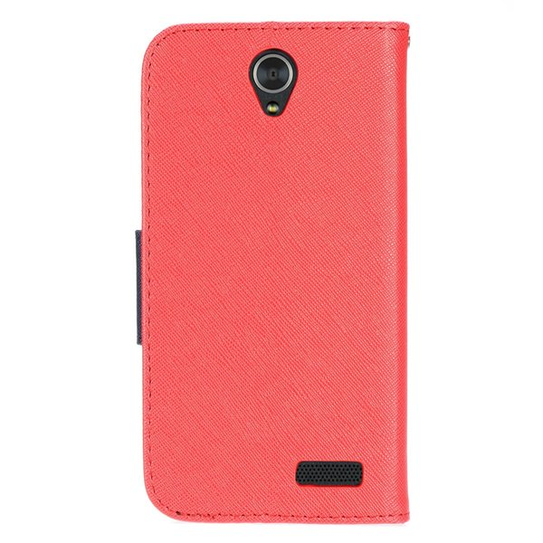 Folio Cover Polish PU Leather Wallet Case Card Holder Photo Frame Phone Accessory for Microsoft Nokia Lumia 650 Nokia 640 635 630 530