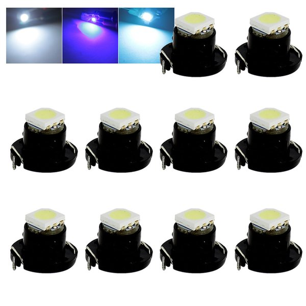 T4.7 NW8 LED White / Blue / Ice Crystal Blue Light Dash Board Instrument Panel Bulb neo wedge lamp DC 12V