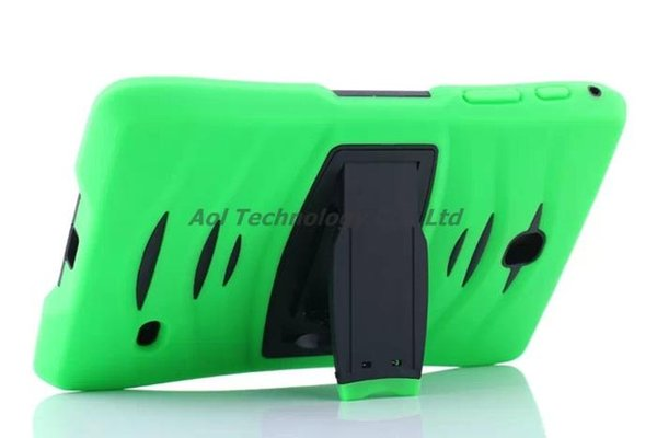 Tablet pc case for samsung GALAXY Tab A T350 Tab 4 lite T116 T330 T230 Tab3 P3200 silicone waterproof dustproof drop resistance shell