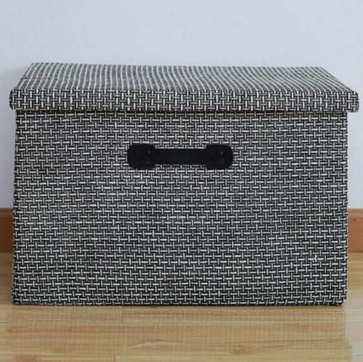 Clothes Blanket Large Storage Boxes Linen Cloth Create Extra Storage Space Foldable Storage Cubes Bin Box Containers Free Shipping