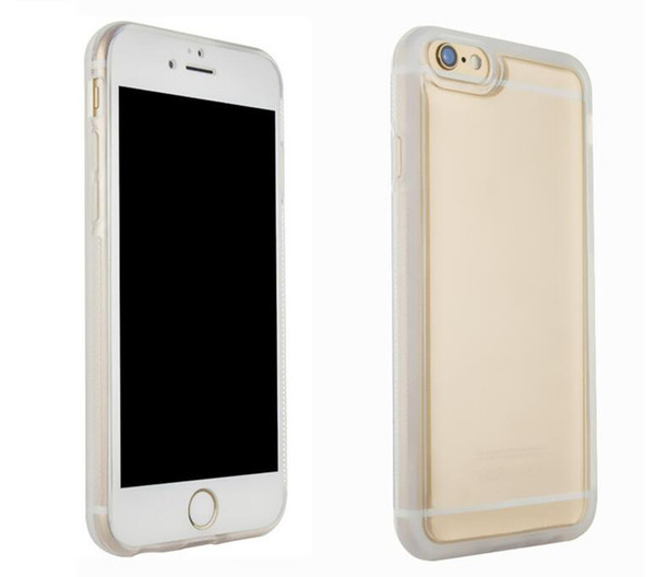 Transparent Clear Anti Gravity Design Case Nano Suction Cover Magic Adsorption Soft Case Shockproof Case Silicon For Iphone 7 6 6S plus