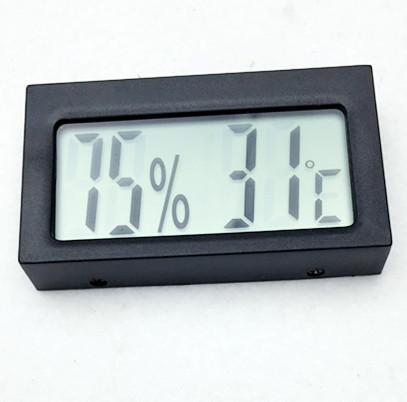 Hochwertige Mini-Digital-LCD-Anzeige Indoor-Outdoor-Thermometer Hygrometer Luftfeuchtigkeit Instrument Temperatursensor Meter Temp Tester
