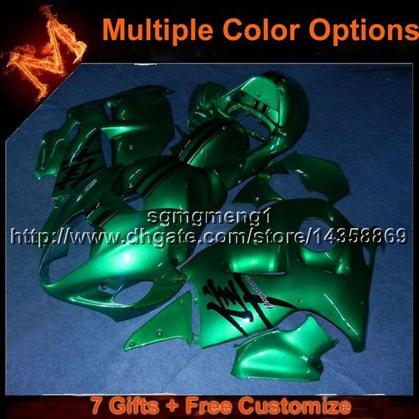 23colors + 8Gifts verde Carenado de la carrocería de la motocicleta para Suzuki GSXR1300 97-07 GSX R1300 1997-2007 97 07 GSX-R1300