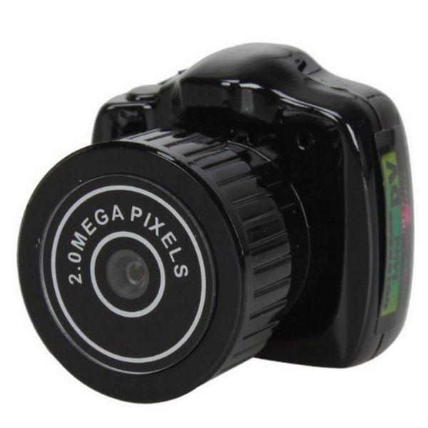 top popular Y2000 Mini Camera Smallest Pocket Camera Mini DV Recorder Micro DVR Video Camera Portable Webcam With Keychain 20 PCS LOT 2020