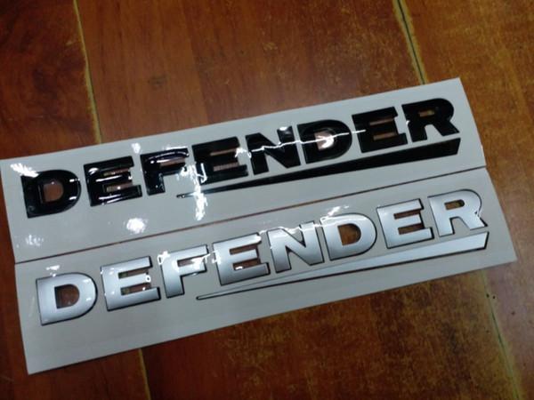 For Land Range Rover Defender Letters Rear Refit Emblem Nameplate Badge Logo Car Styling