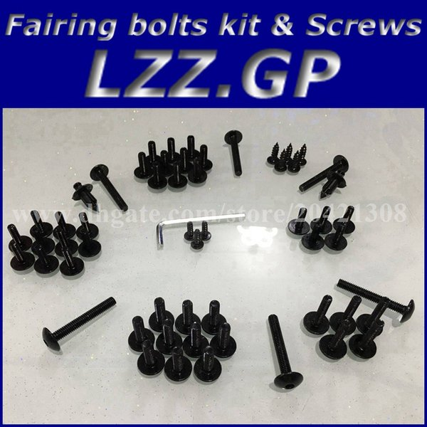 Fairing bolts kit screws for HONDA CBR900 954 2002 2003 CBR900RR 02 03 CBR954 954RR 02 03 Fairing screw bolts Black silver
