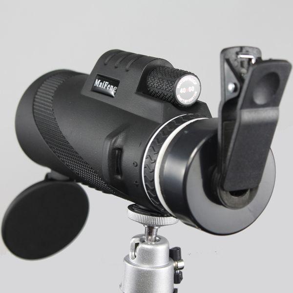 Alta calidad 40x60 Binoculares potentes Zoom Binoculares Gafas de campo Grandes telescopios de mano Militar HD Profesional Caza