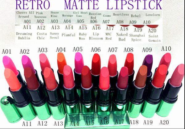 hot NEW makeup LIPSTICK 3g( 200 Pieces/Lot)