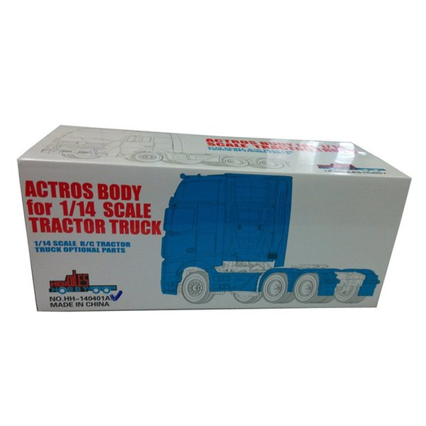 Wholesale- [HERCULES HOBBY] TAMIYA 1 14 Scale Tractor Truck Actros 1851 Complete Body 3 axle