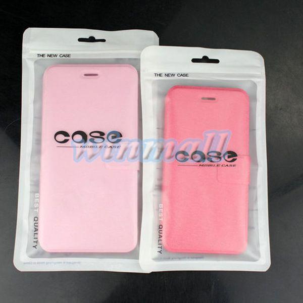 (Solo borsa) Chiusura a zip Accessori per cellulari Custodia per cellulare Custodia per auricolari Cavo USB Borsa per imballaggio al dettaglio OPP PP PVC Borsa per imballaggio in plastica