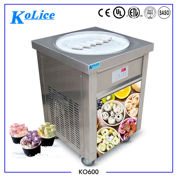 Máquina de sorvete de rolo