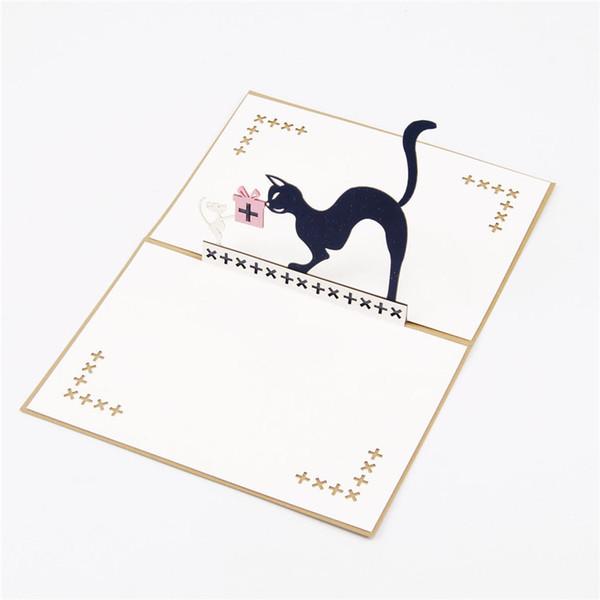Compre Laser Cut Invitaciones Tom Y Jerry 3d Pop Up Tarjeta Cumpleaños Tarjetas De Felicitación A 20 11 Del Maggiella Dhgate Com