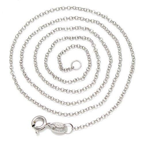 5pcs/lot 925 Sterling Silver Necklace Chain For DIY Craft Jewelry Gift 16inch Free Shipping WY929*