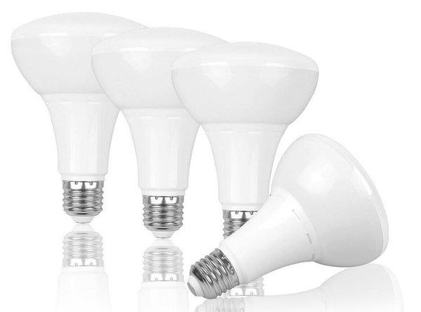 Ampoules de BR30 E27 LED 12W / 15W AC85-265V Lumière d'inondation blanche et chaude du blanc LED pour remplacement incandescent du remplacement 100W de Downlight Downlight