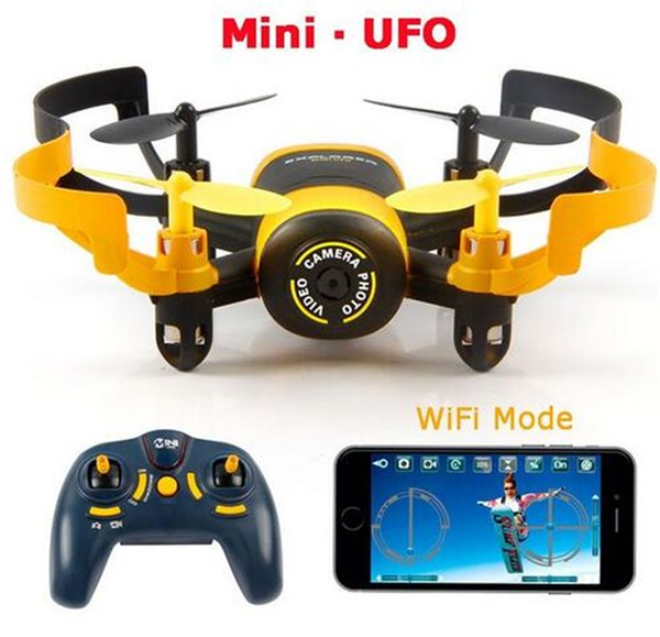 Jxd 512w jxd512w 2 4ghz wifi fpv mini ufo one key return   headle   mode rc quadcopter with 0 3mp hd camera rtf