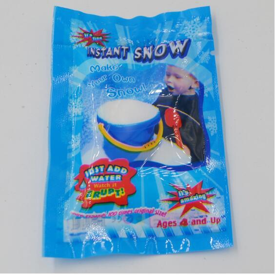 Christmas Decoration Instant Snow Magic Prop DIY Instant Artificial Snow Powder Simulation Fake Snow For Night Party