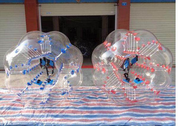 Calcio corpo Zorb bolla sfera del nodo palloncini gonfiabili giocattolo bambini gioco per adulti erba pallone da calcio zorbing palle paraurti