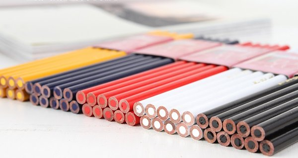 10pcs/lot special colored pencil suitable for writing on leather/glass/plastic/ceramic /metal Drawing Art Painting color Pencil