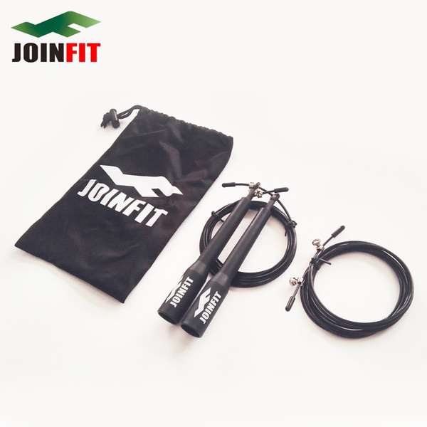 Length 3 Meter Crossfit Speed Jump Rope with Free Joinfit Carry Bag and One Piece Spare Rope Free Shipping Gym Fitness Exercise Supplies
