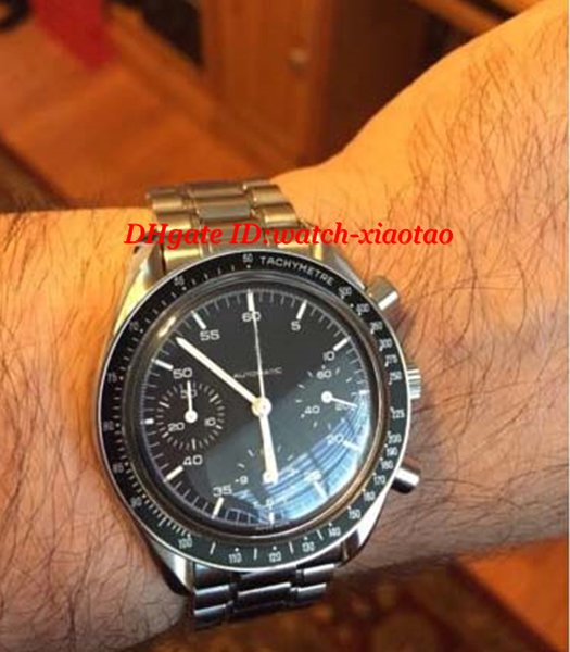 Роскошные часы высокое качество Браслет из нержавеющей стали снижение мужские часы 3510.50.00 40 мм кварцевые мужские часы Наручные часы