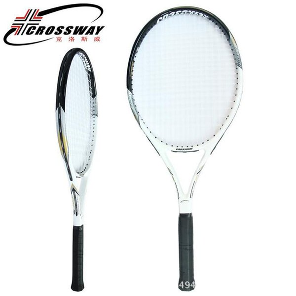 Großhandel Crossway Tennisschläger Tenis Masculino Kohlefaser Größe 4 3/8 Zoll OS-Schlägeroberfläche 1 Stück