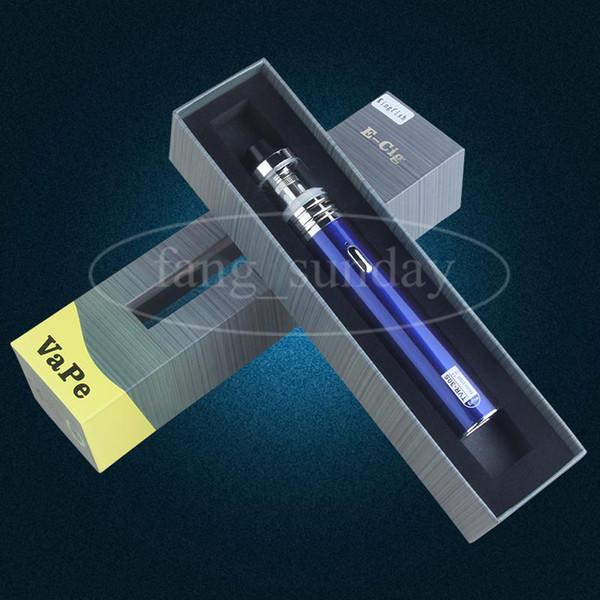 E Ecigs Cigarette 2200 mAh Vape Battery USB Pass Through Vaporizer Pen Mod 30w TVR 30S Box Mod Vaporizer Starter Kit China Direct