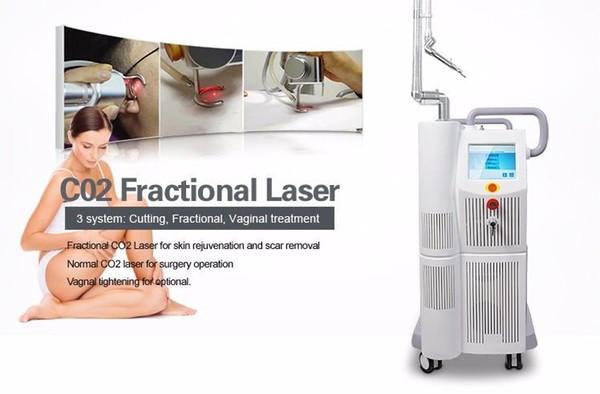 Laser fracionário do CO2 do gerador do hidrogênio do laser 40W Tem00 do CO2 para o laser de aperto Vaginal Equipamento do rejuvenescimento da pele da remoção da cicatriz da acne