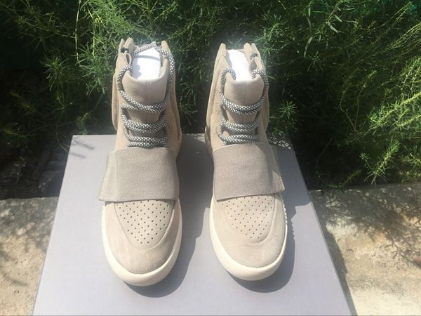 2016 Fashion Top Quality 750 PU+RUBBER Soles Kanye West Casual Outdoor Waterproof Snow Boots Running Shoes Sports Sneakers Size40-46