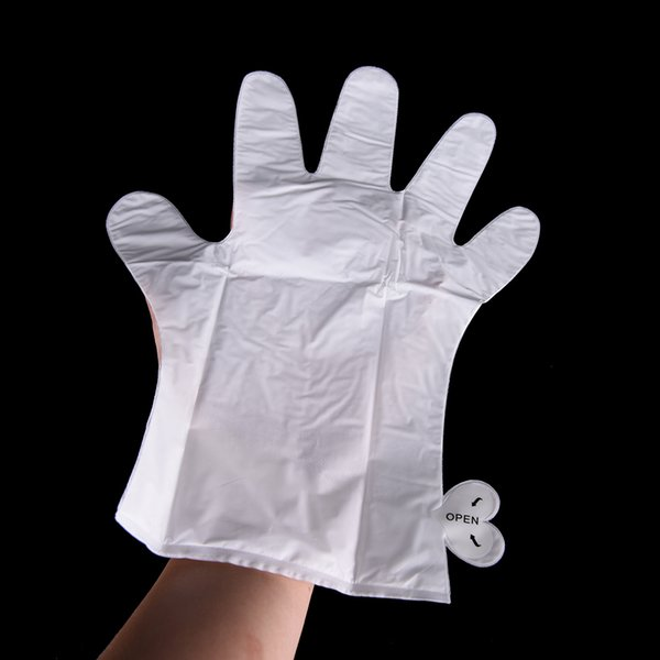 top popular ROSOTENA 6PCS=3PAIRS Skin Care Exfoliating Hand Mask Moisturizing Gloves Spa Gloves Soften Skin White Moisturize Repair Gloves 2021