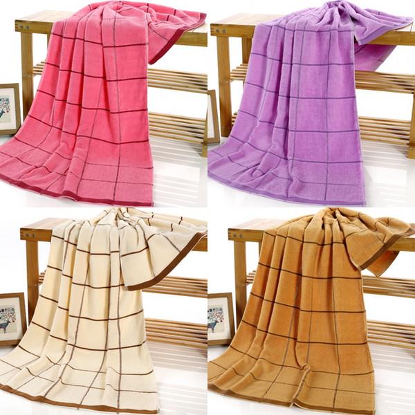 2019 envío gratis barato puro algodón toalla fabricantes, venta al por mayor nativo rojo lechoso marrón rosa generosidad Giga gruesas toallas de algodón HY1237