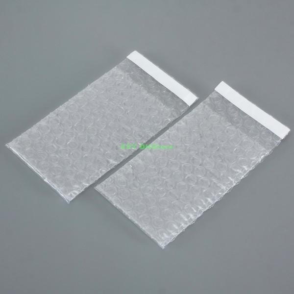 100 шт прозрачная Самоуплотняющаяся пузырьковая упаковка конверты оберточные меш