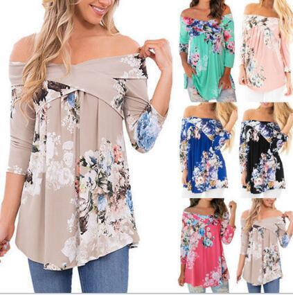 best selling Fashion Cheap women's prints T-Shirts Casual Clothing long Sleeve T shirt Female Loose Fit Tops Shirts