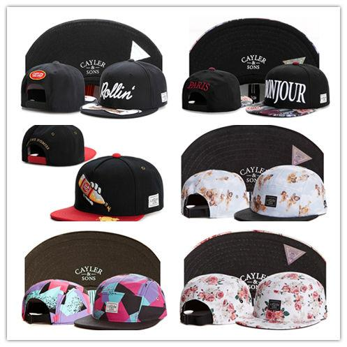 New Design Cayler & Sons snapback Fashion Street Headwear adjustable size sports custom snapbacks caps drop shipping mix order
