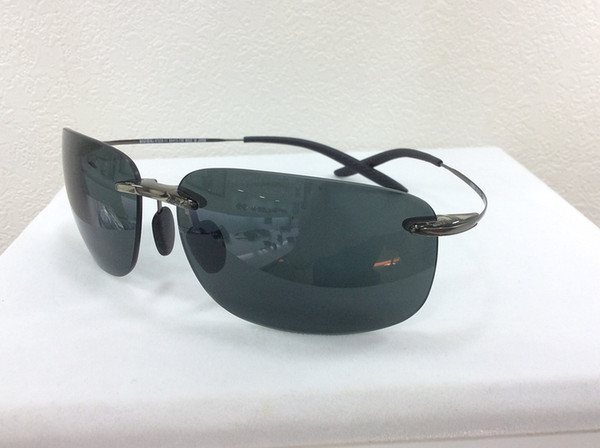Cool Mens Sunglasses Gunmetal/Grey Brand New With Case