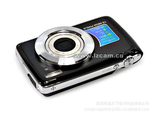 Caméra numérique haute définition directe 15 millions de pixels zoom optique 3x 2,7 pouces zoom numérique 4x