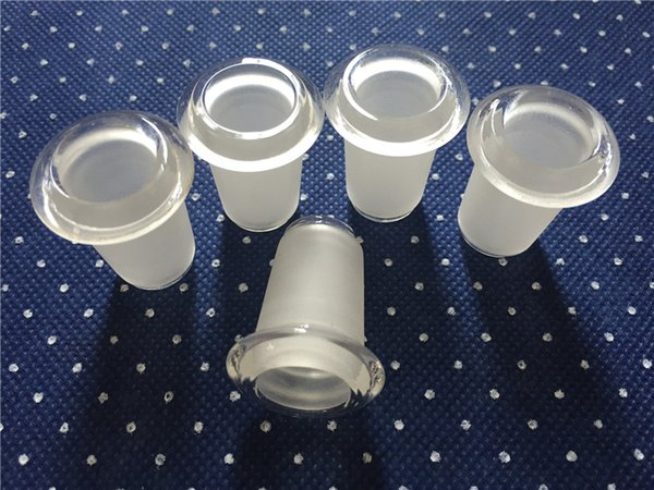 Hot Sale Standard Joint Mix Size 14 & 18 Female Converter Glass Adapter Female Joint for Glass Water Pipe Glass Bong