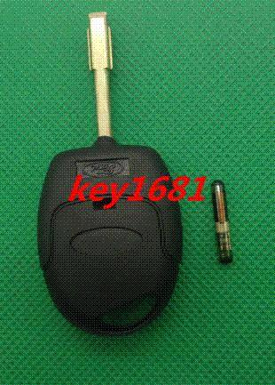 Car Key For Car Ford Mondeo 3 Button Remote Control 434MHZ With 4D60 Chip Alarm Systems & Security
